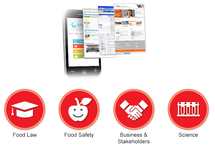 food news monitoring system